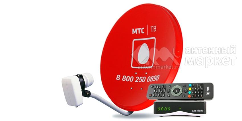 Комплект МТС ТВ с ресивером EKT DSD 4614i (Весна красна)