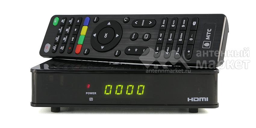 Ресивер МТС ТВ AVIT S2-4900 + карта 1 мес