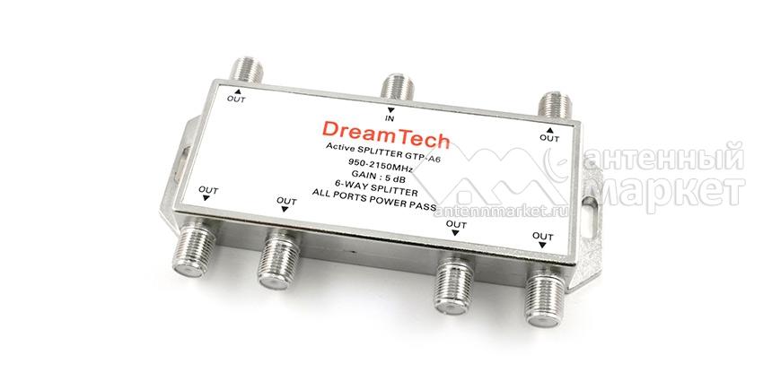 Активный спутниковый делитель DreamTech A6
