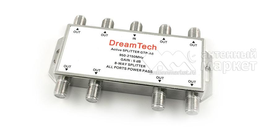 Активный спутниковый делитель DreamTech A8
