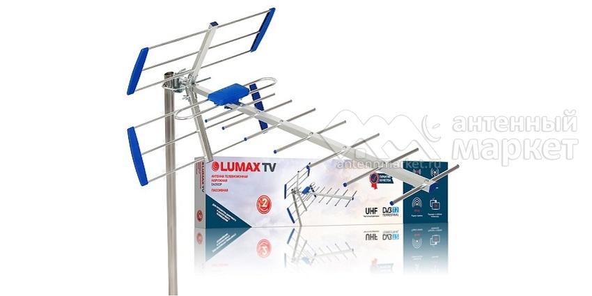 Антенна DVB-T2 LUMAX DA2502P 12дБ