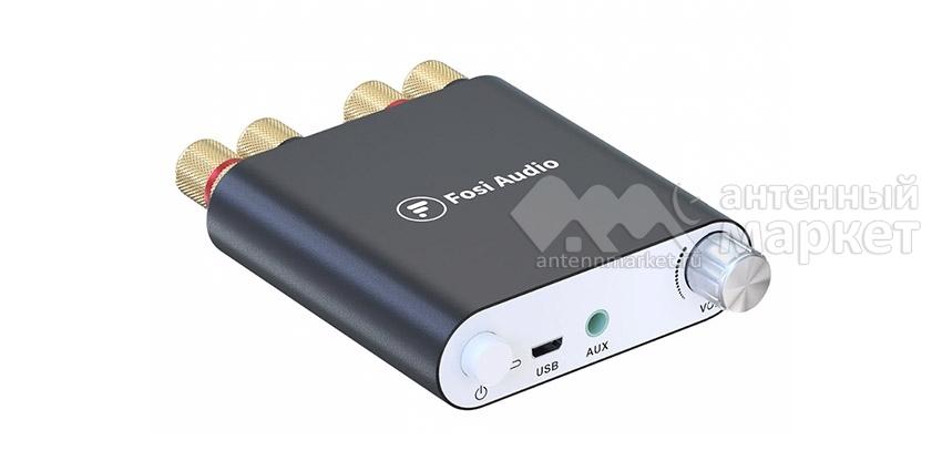Аудио Bluetooth усилитель Fosi Audio ZK-1002D Чёрный