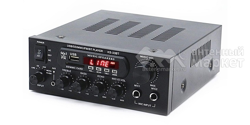 Аудио Bluetooth усилитель KS-33BT