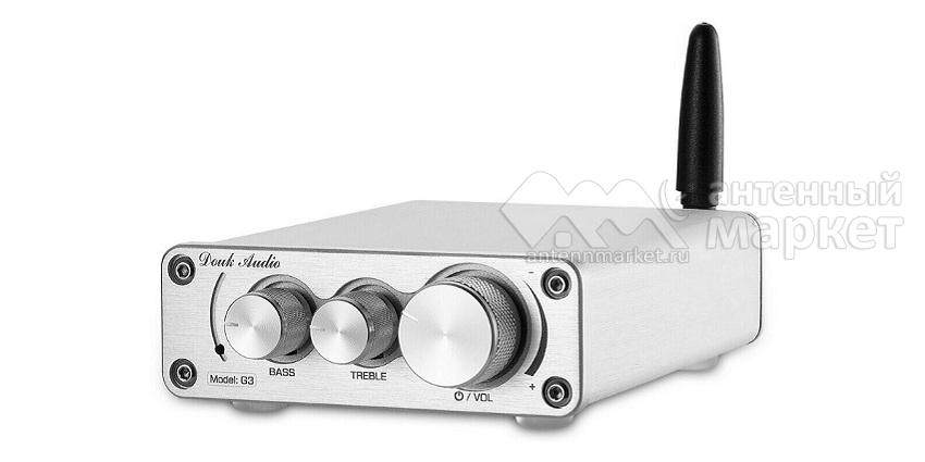 Аудио Bluetooth усилитель Nobsound G3 Серебристый