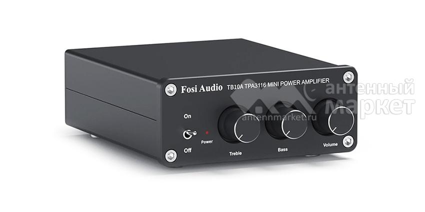 Аудио усилитель Fosi Audio TB10A чёрный
