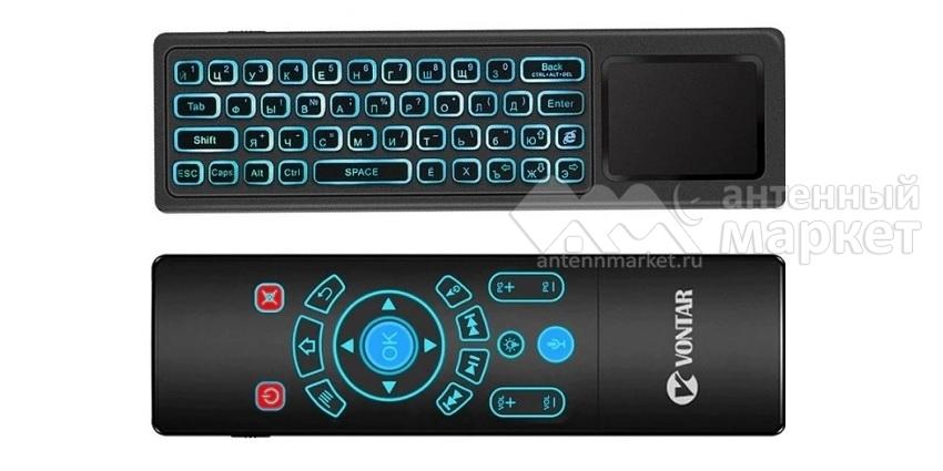 Беспроводная клавиатура-пульт Vontar T8 plus с голосовым управлением