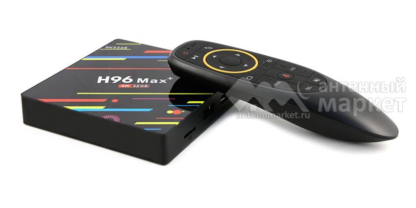 IPTV приставка Booox H96 MAX+ 4/32Гб Voice control