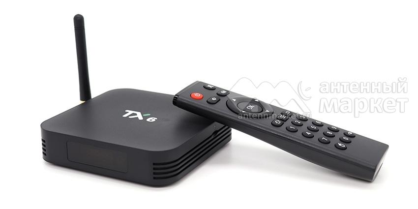 IPTV приставка Tanix TX6
