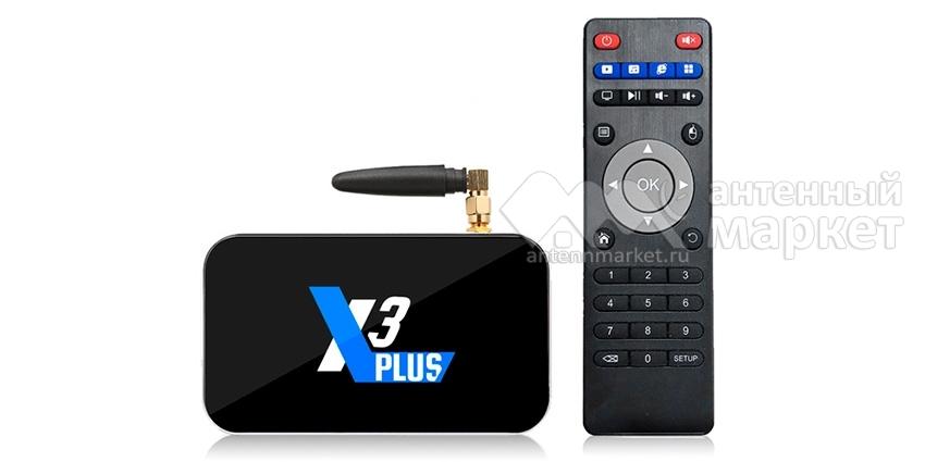 IPTV приставка Ugoos X3 Plus 4/64Gb