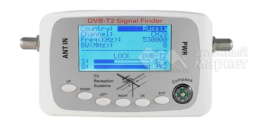 Измерительный DVB-T2 прибор Gecen SF-500T2