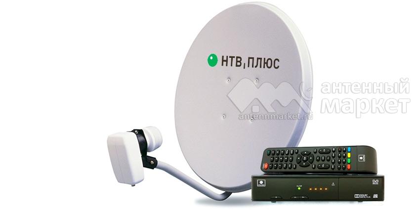 Комплект НТВ-ПЛЮС с приемником NTV-PLUS 1 HD VA