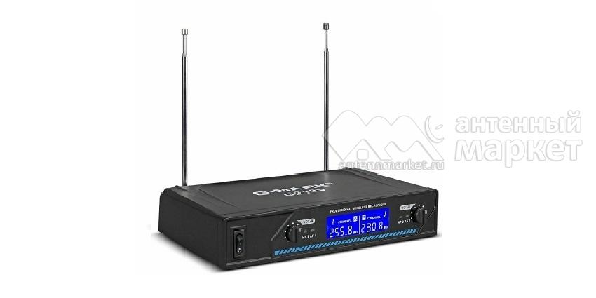 Комплект радио микрофонов G-Mark G210V