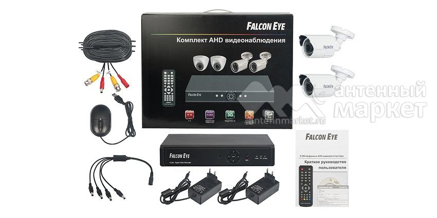 Комплект видеонаблюдения Falcon Eye FE-104AHD KIT Light.1 на 2 камеры