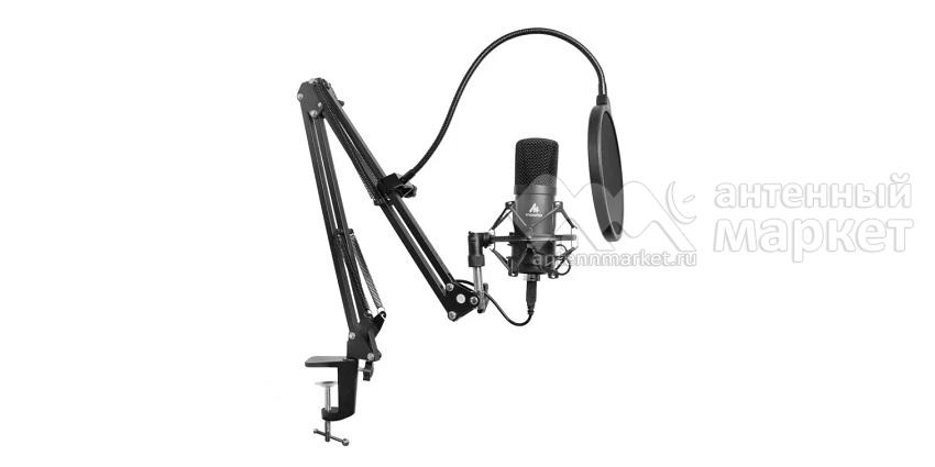 Конденсаторный микрофон со стойкой Maono AU-A04