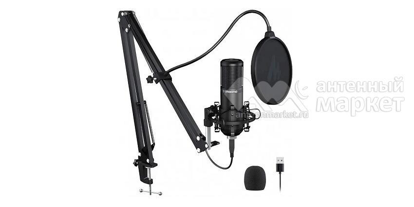 Конденсаторный микрофон со стойкой Maono AU-PM420