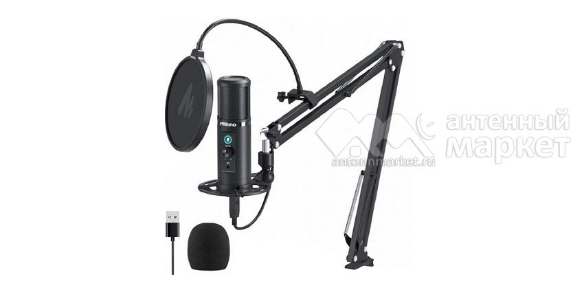 Конденсаторный микрофон со стойкой Maono AU-PM422