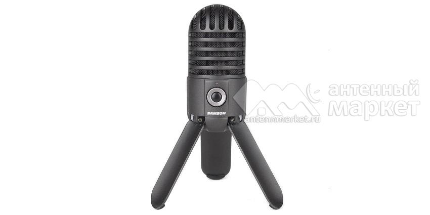 Конденсаторный USB микрофон Samson Meteor Черный