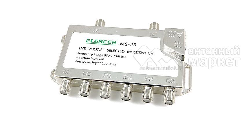 Мультисвитч Elgreen MS-26