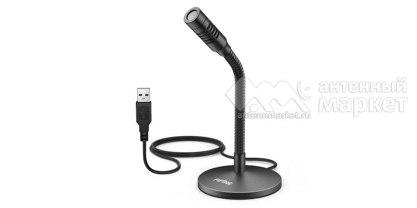 Настольный USB микрофон Fifine Mini K050