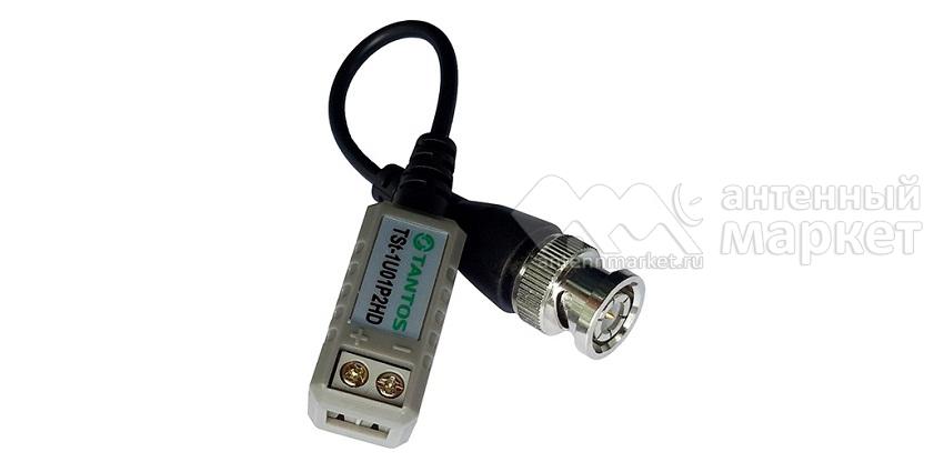 Приемник-передатчик видео (BNC) по витой паре TSt-1U01P2HD