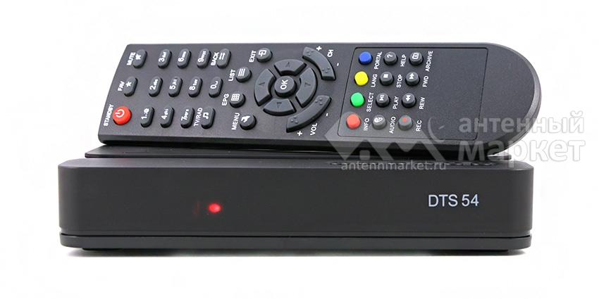 Ресивер DTS-54 + Карта Триколор HD Экстра (Центр)