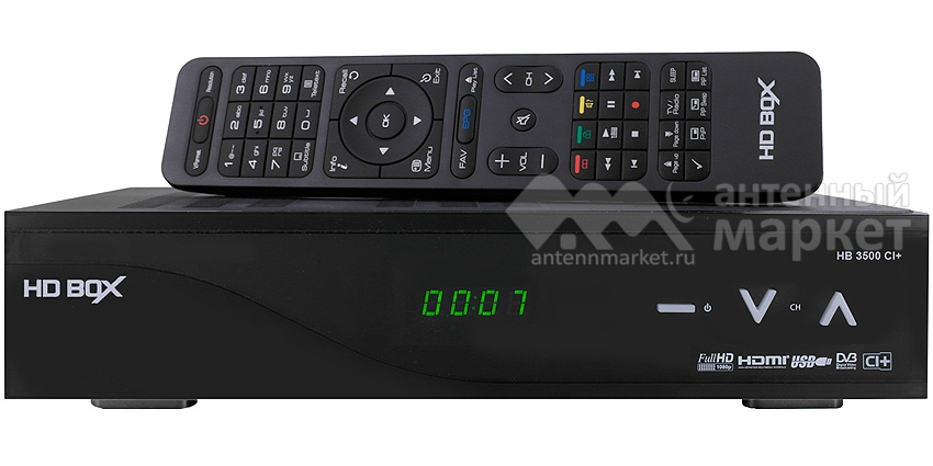Ресивер HD BOX 3500 CI+