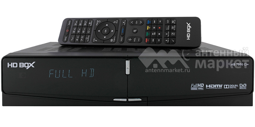 Ресивер HD BOX 7500 CI+