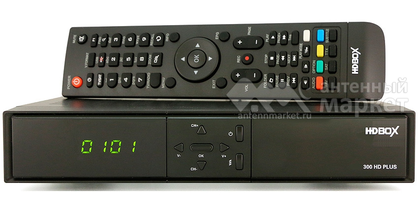 Ресивер HD BOX HDB 300 HD Plus