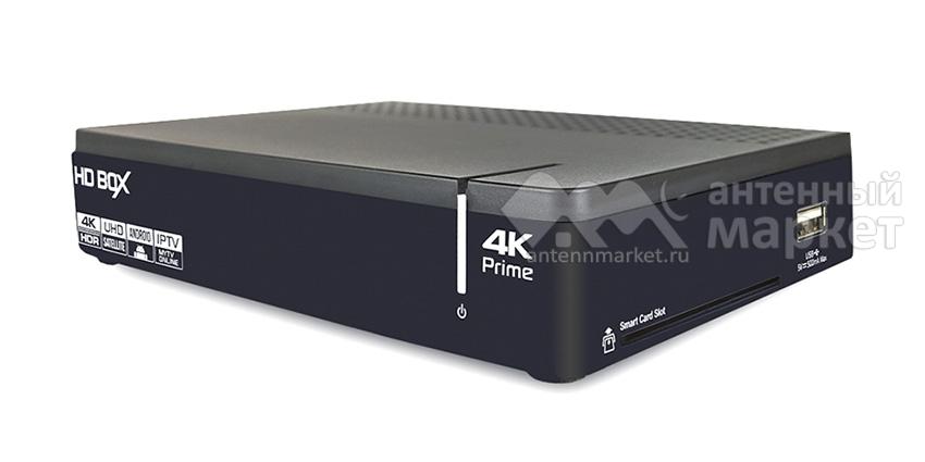 Ресивер HD BOX Prime 4K