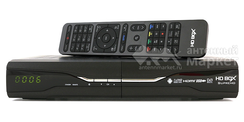 Ресивер HD BOX Supremo