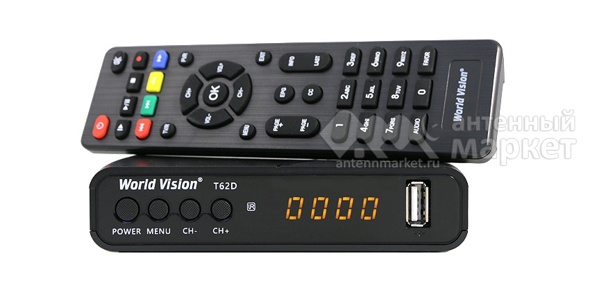 Ресивер World Vision T62D