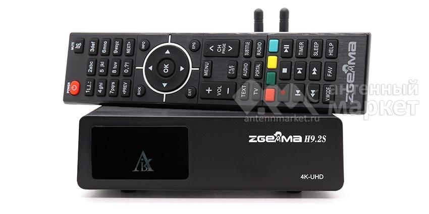 Ресивер Zgemma H9H.2S