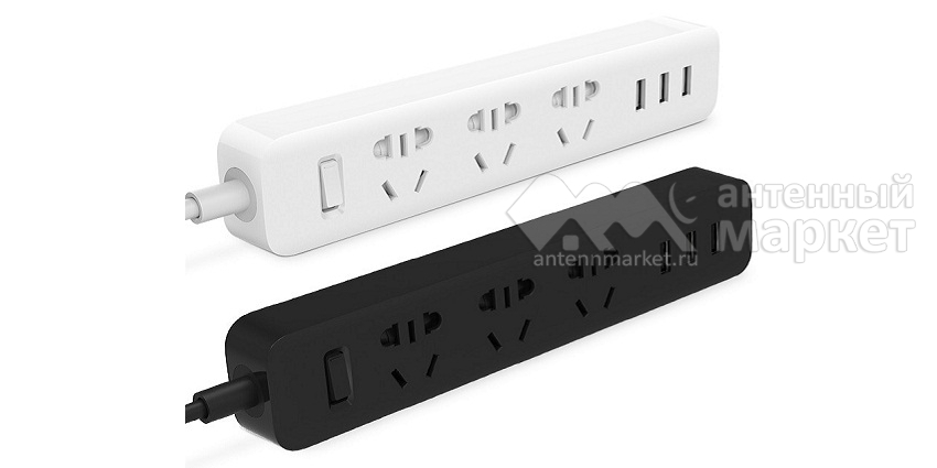 Удлинитель Xiaomi Mi Power Strip 3 розетки + 3 USB