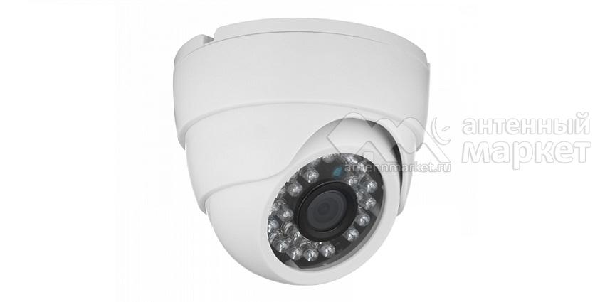 Видеокамера купольная AHD-411 2Mp 3.6 мм