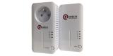 Комплект PLC адаптеров QPLA-500.2P v3