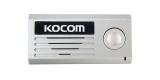 Вызывная панель аудиодомофона KOCOM KC-MD10 (серебро)
